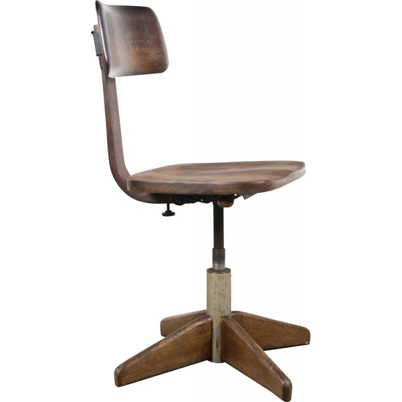 Vintage Bauhaus chair by Albert Stoll for Der Federdreh