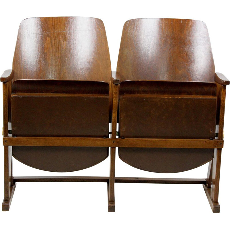 Vintage cinema two-seater from TON