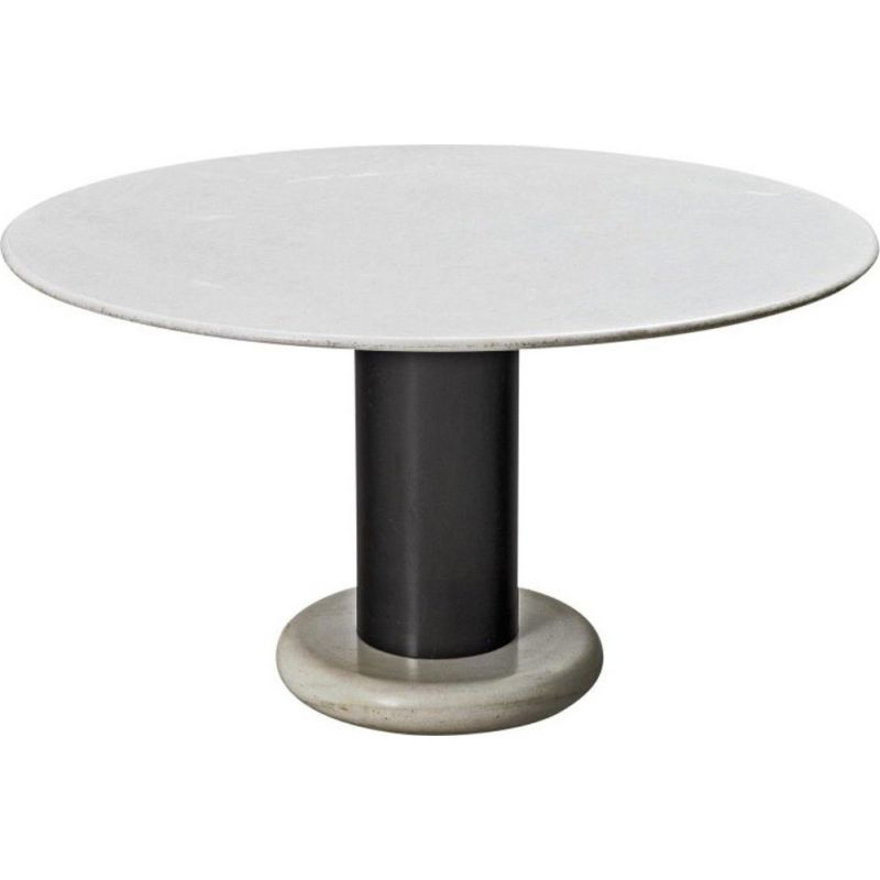 Vintage table Carrara Marble by Ettore Sottsass