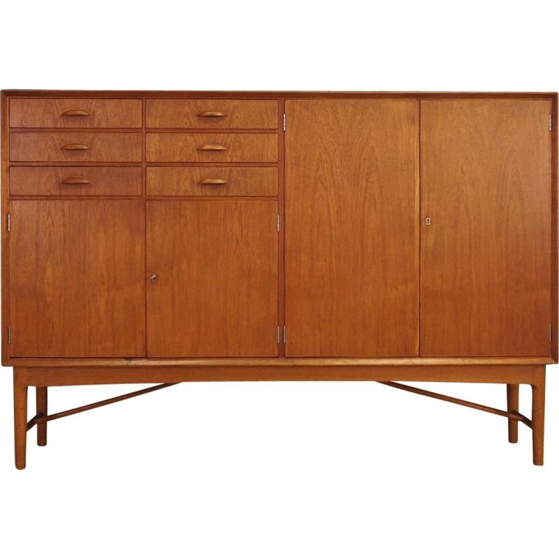 Vintage highboard in teak Danish design