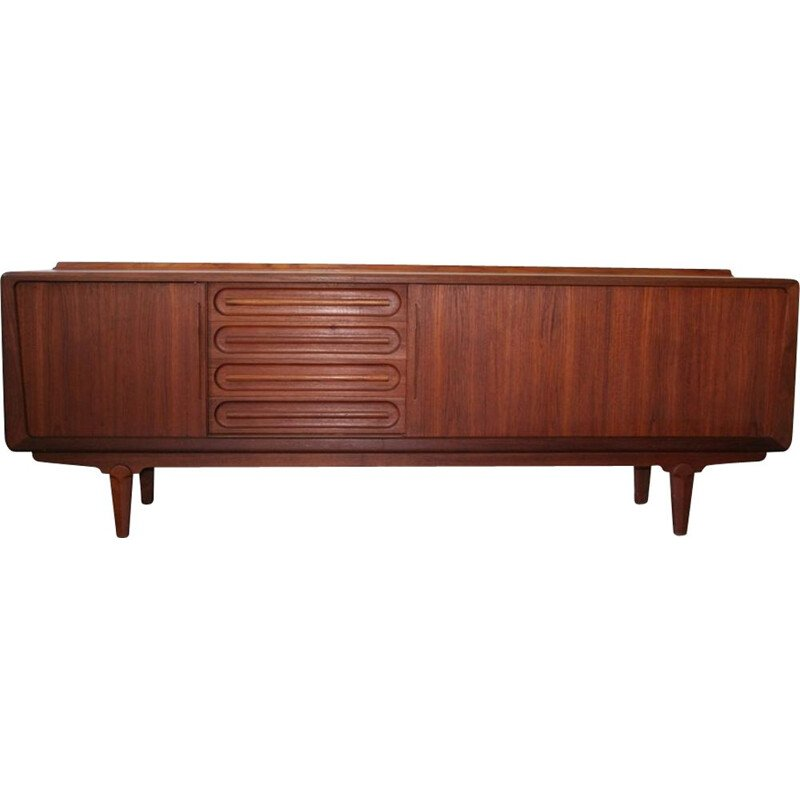 Vintage sideboard in teak by Arne Vodder for Vamo Sonderborg Scandinavian 1960