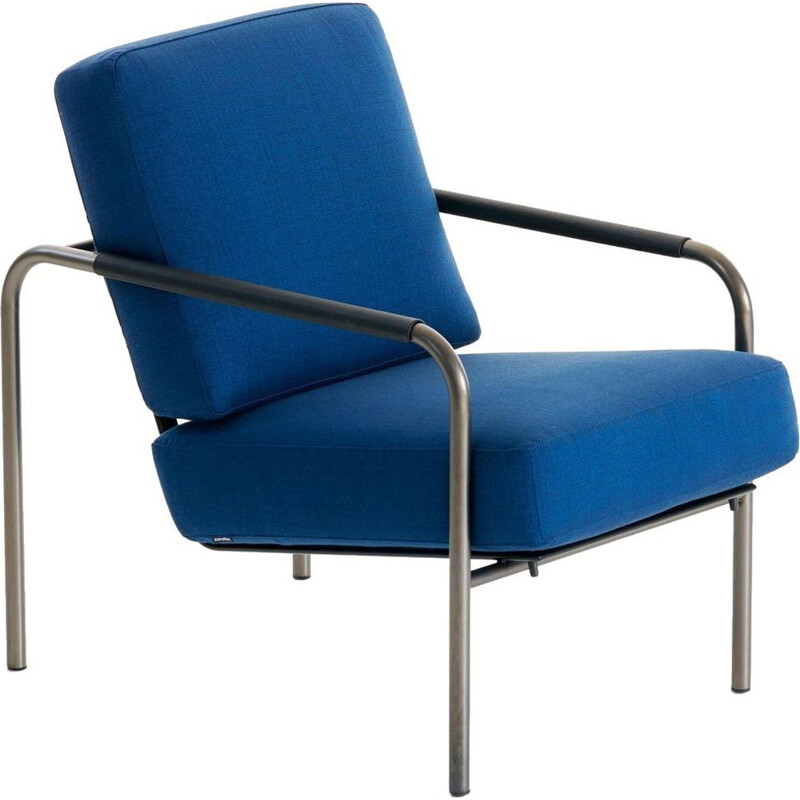 """Susanna"" in fabric armchair by Gabriele Mucchi for ZANOTTA"