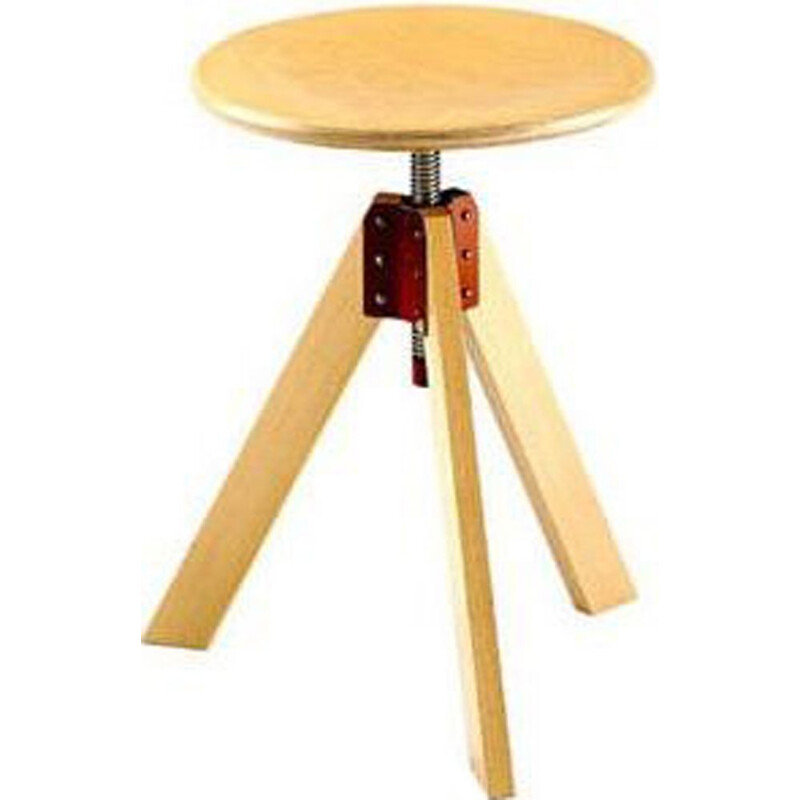 """Giotto"" stool by De Pas, D'Urbino, Lomazzi for ZANOTTA"