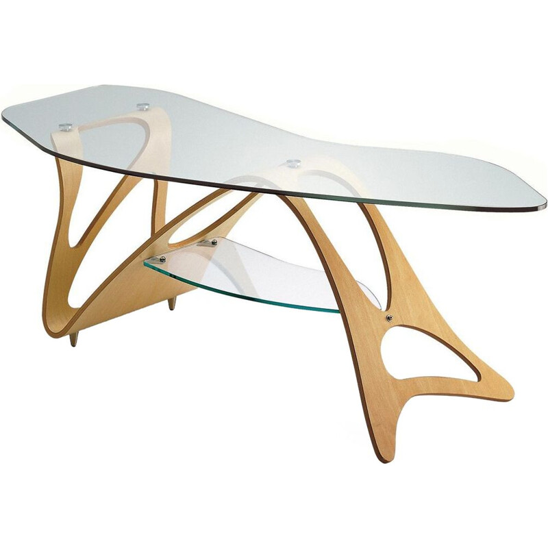 """Arabesco"" coffee table by Carlo Mollino for ZANOTTA"