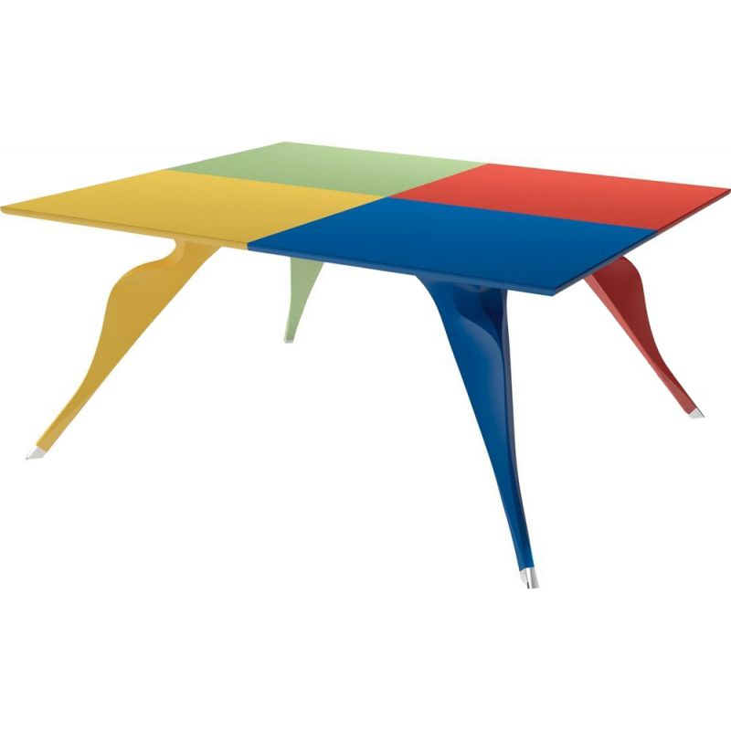 """""""Macaone"""" dining table by Alessandro Mendini for ZANOTTA"""