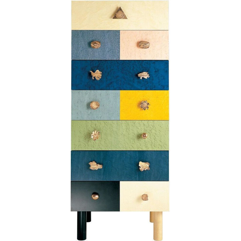 """Genesio"" chest of drawers by Alik Cavaliere for ZANOTTA"