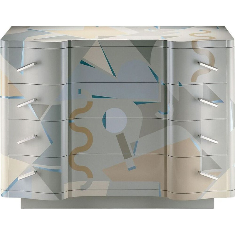 """Cetonia"" chest of drawers by Alessandro Mendini for ZANOTTA"