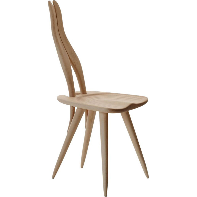 """Fenis"" chair by Carlo Mollino for ZANOTTA"
