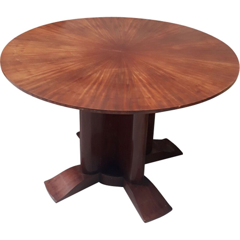Vintage dining set for DIM in mahogany 1930