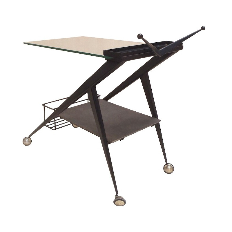 Serving trolley, Angelo OSTUNI - 1950s
