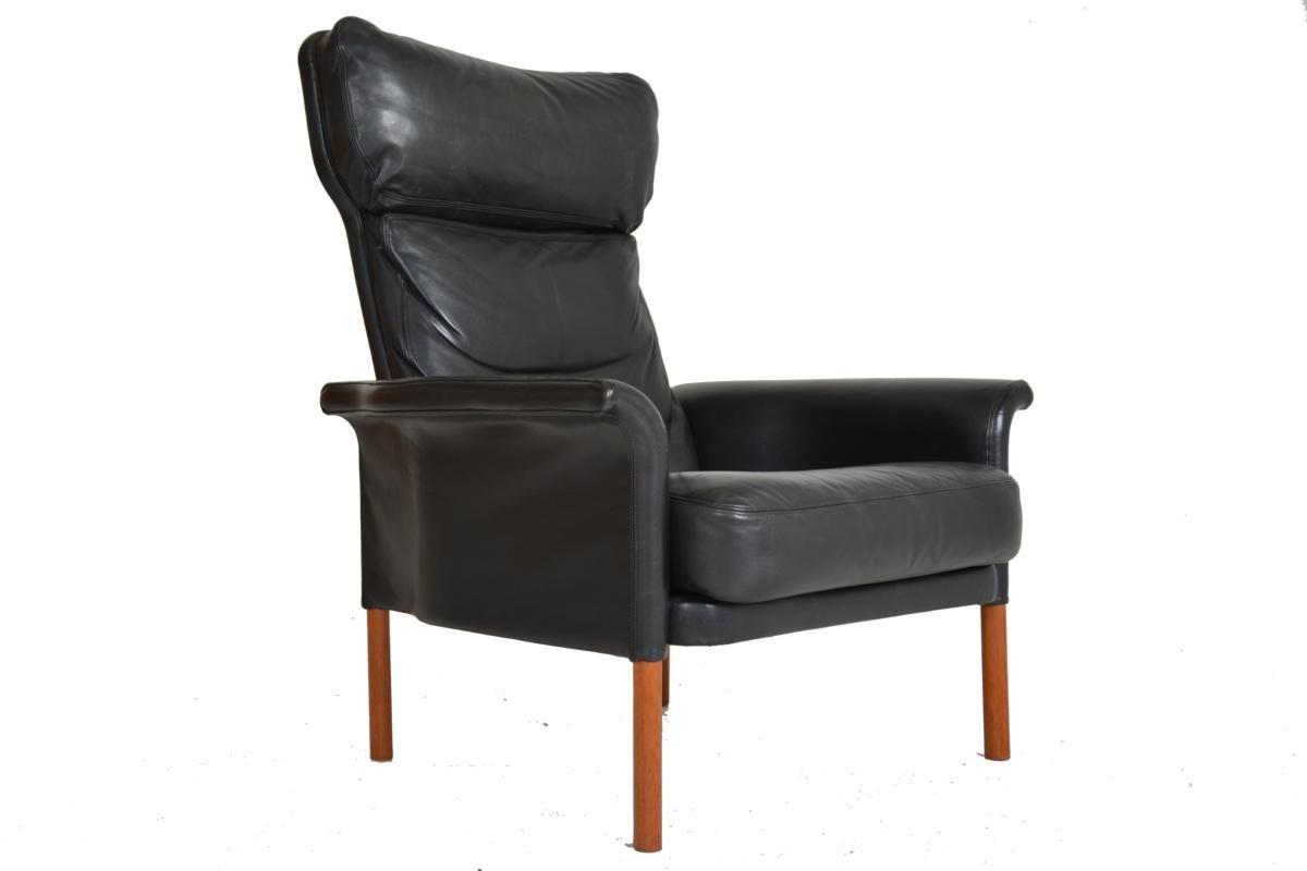 Vintage Danish Leather Armchair. Previous Next