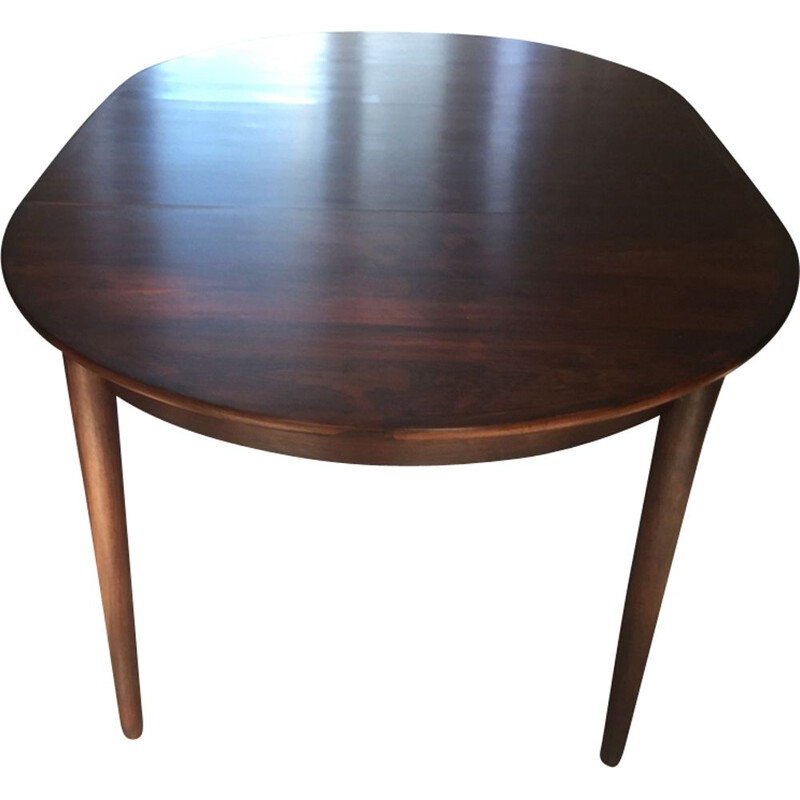 Vintage extendable table for MSE Mobler Denmark Torring in rosewood