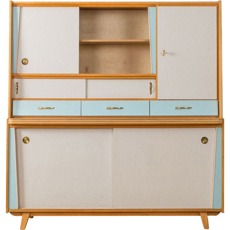 Vintage kitchen cabinet in ash Germany 1950s