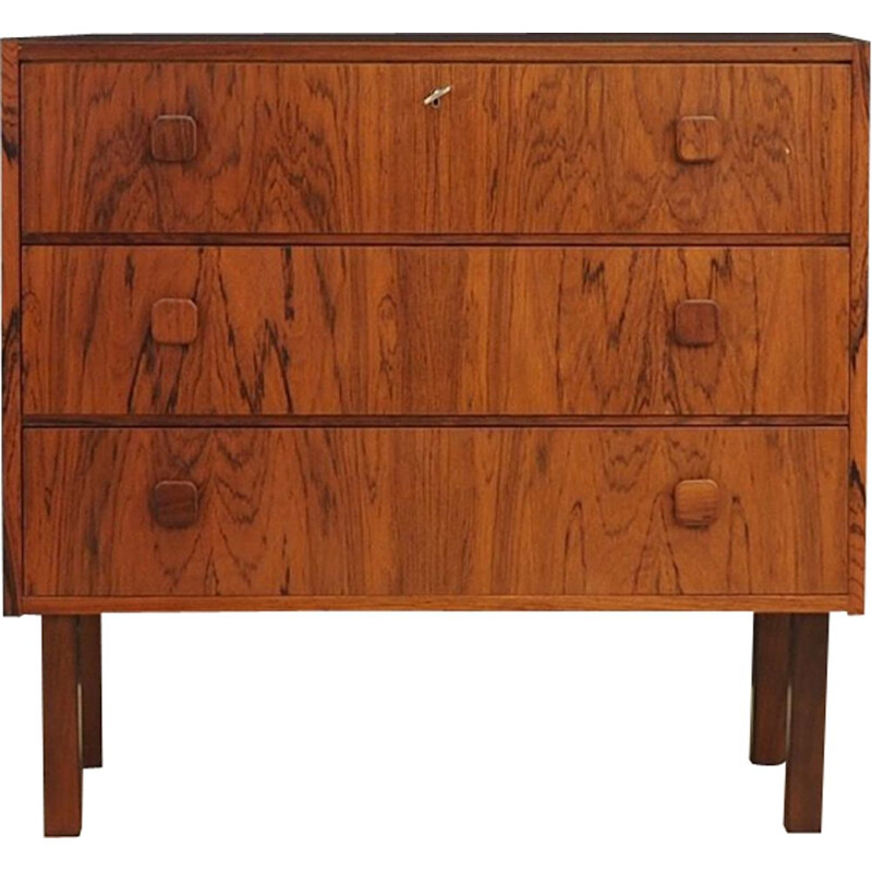 Vintage chest of drawers in rosewood