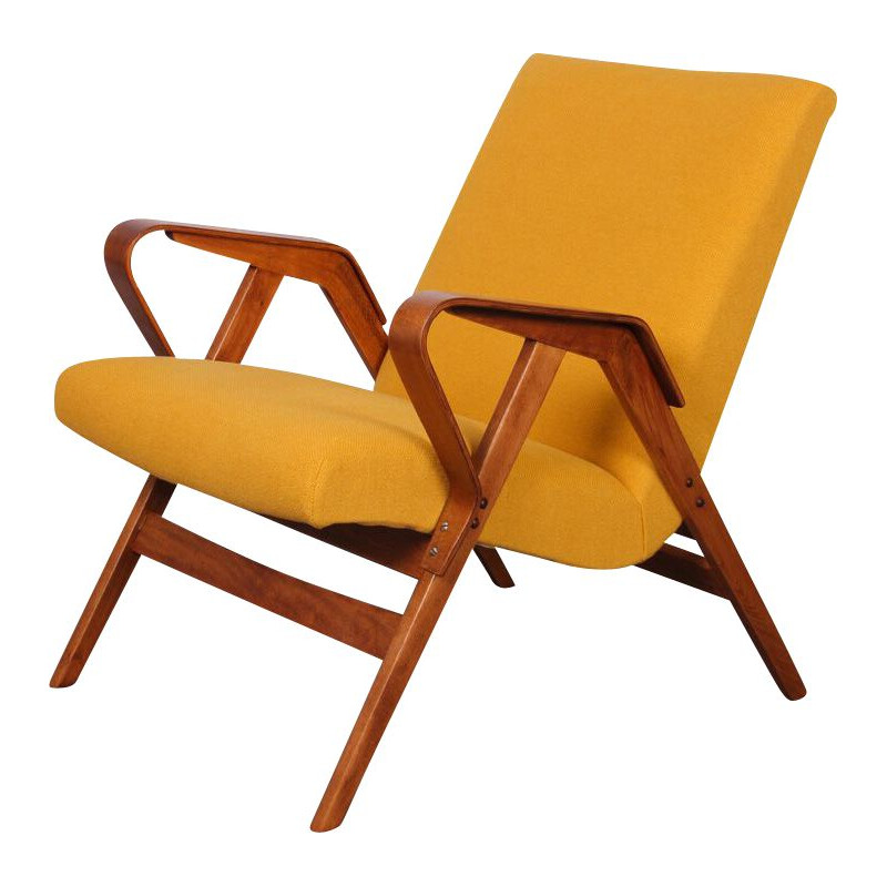 Pair of vintage armchairs for Tatra Nabytok 1960