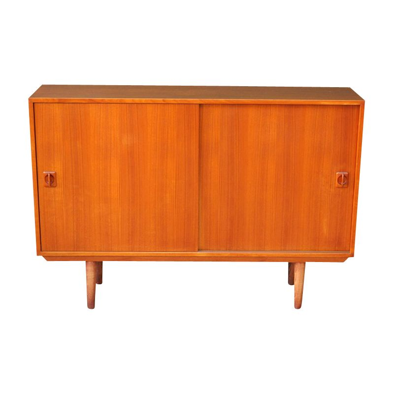 Vintage small sideboard in teak 1960