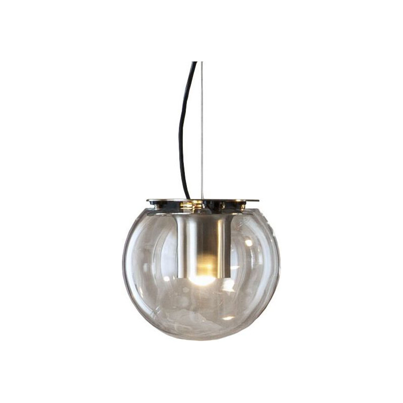 """The Globe 828 Or"" pendant lamp by Joe Colombo for OLUCE"