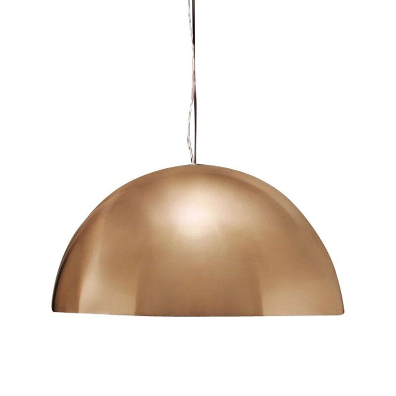 """Sonora 437 Or"" pendant lamp by Vico Magistretti for OLUCE"