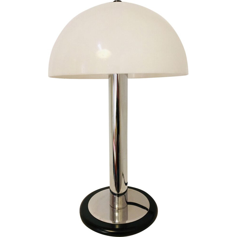 Vintage table lamp Mushroom France 1970s