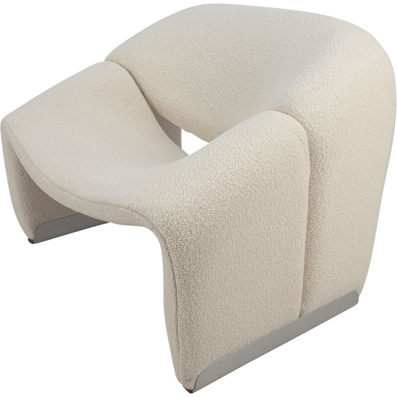 Vintage armchair F598 Groovy Chair by Pierre Paulin for Artifort, 1980s