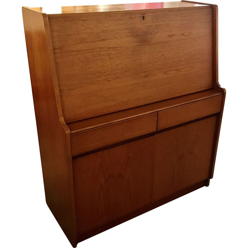 Vintage teak Secretary for REMPLOY