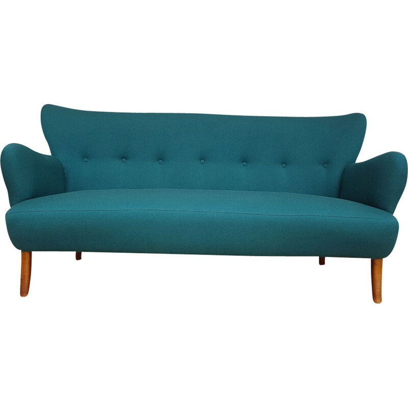 Vintage 3 seaters sofa for Slagelse Møbelfabrik 1960