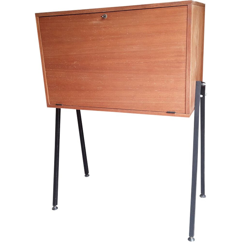 Vintage ash Secretary by Pierre guariche 1950