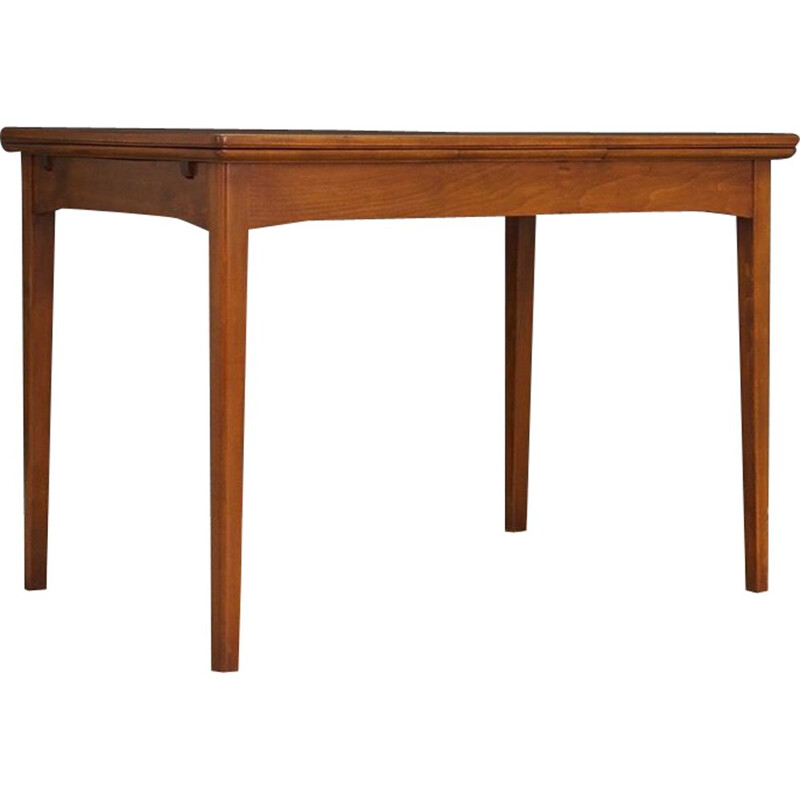 Vintage danish table in walnut 1960
