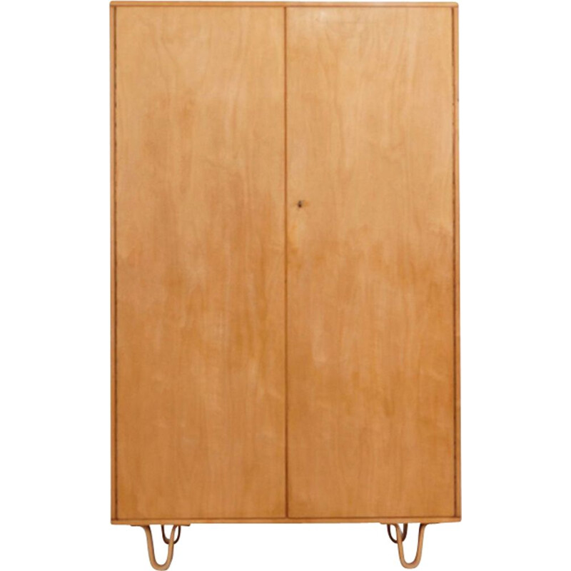 Vintage cabinet in birch KB02 by Cees Braakman for Pastoe 1950s