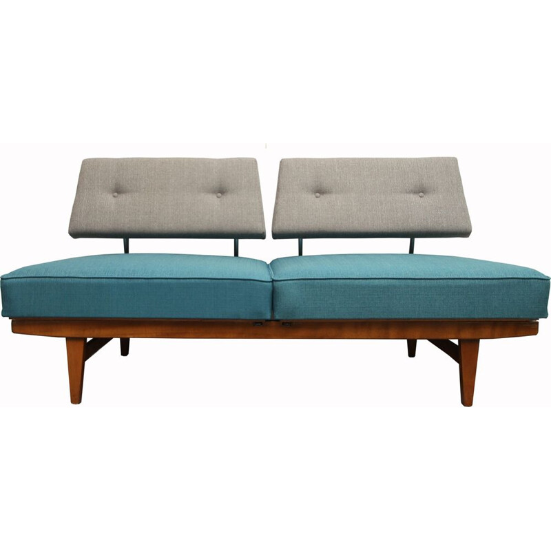 Vintage daybed in beech Walter Knoll 1960s