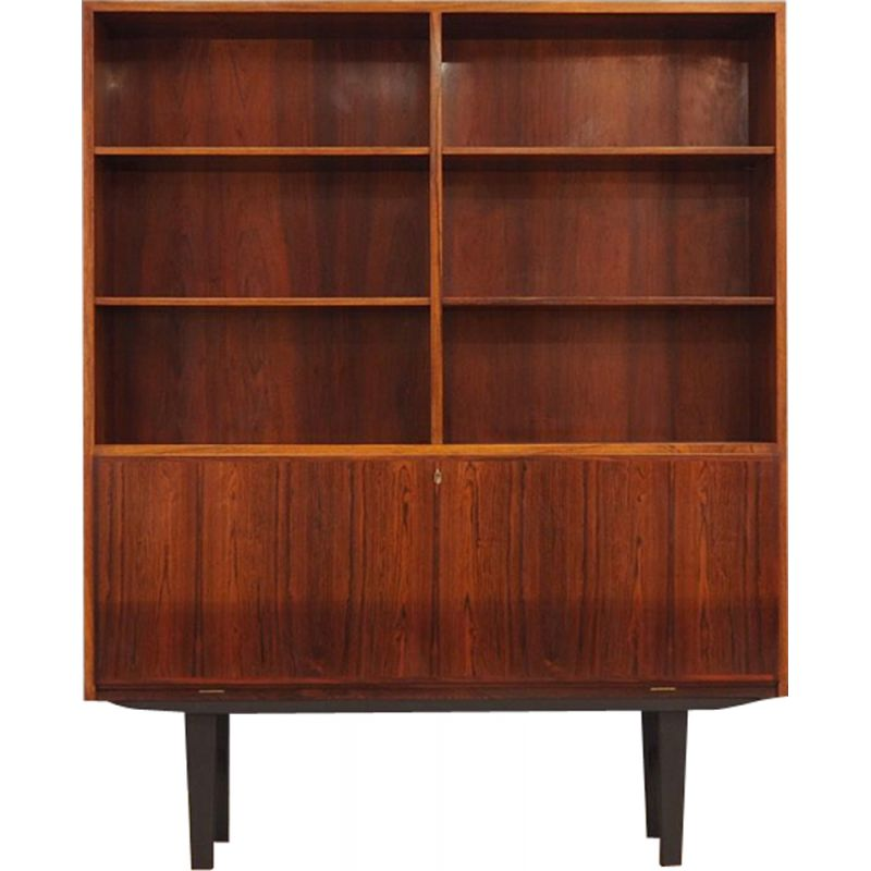 Vintage danish bookcase in rosewood 1970