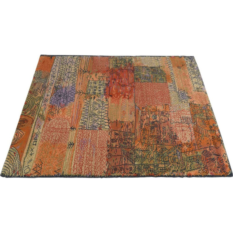 Vintage rug Florentinisches Villenviertel by Paul Klee for Ege Axminster Denmark 1988