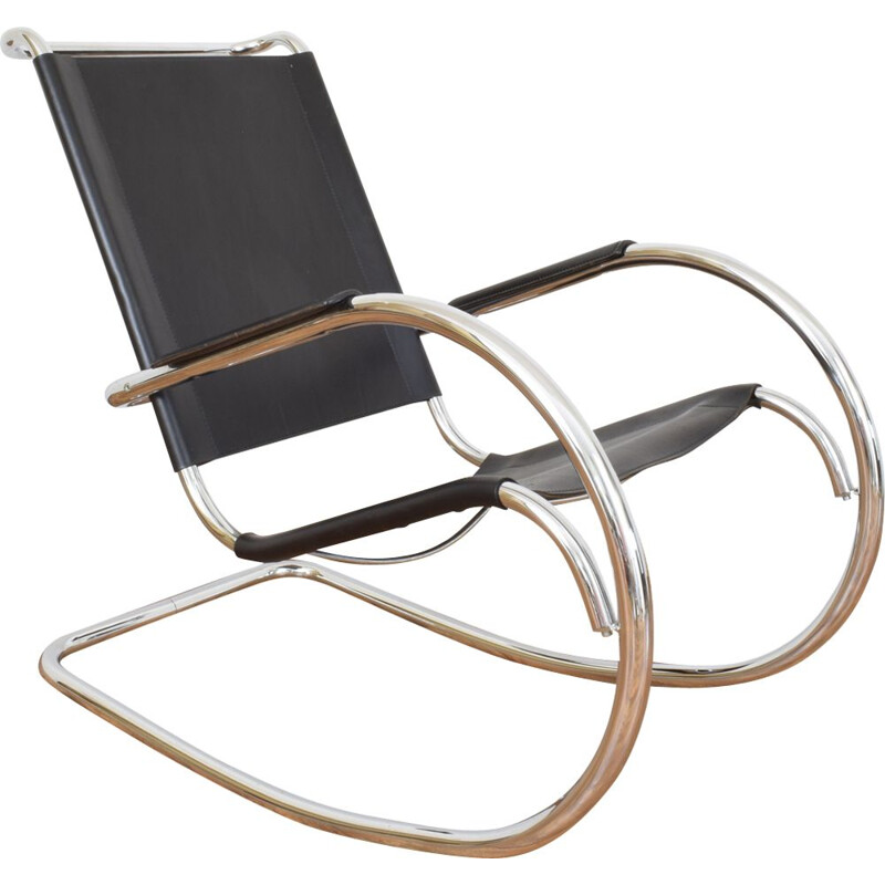 Vintage rocking chair by Fasem Italy 1960s