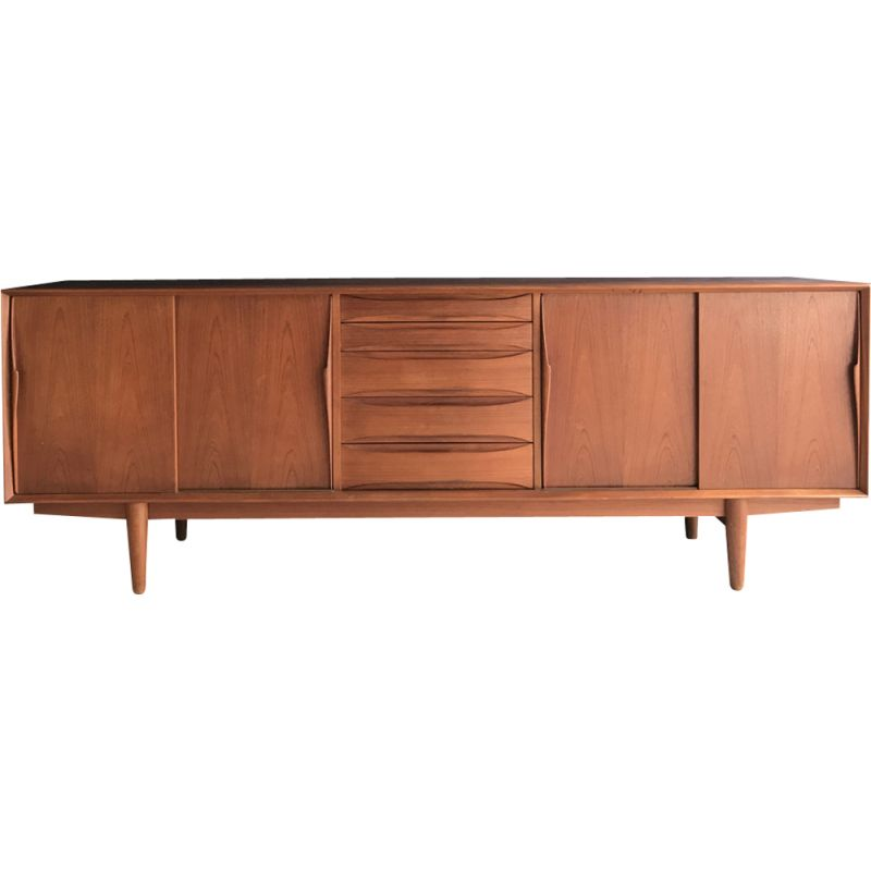 Vintage sideboard in teak by Arne Vodder,1960