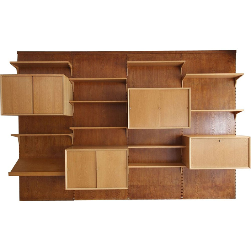 Vintage Cado shelf in oak by Poul Cadovius,1960