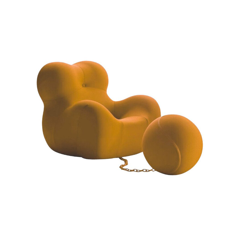 """UP Junior"" armchair by Gaetano Pesce for B&B ITALIA"