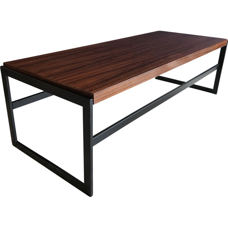 Vintage reversible coffee table Idealheim by Dieter Waeckerlin
