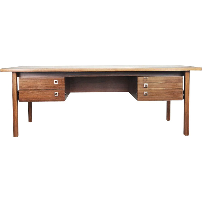 Vintage rosewood desk by Arne Vodder for Sibast 1960s