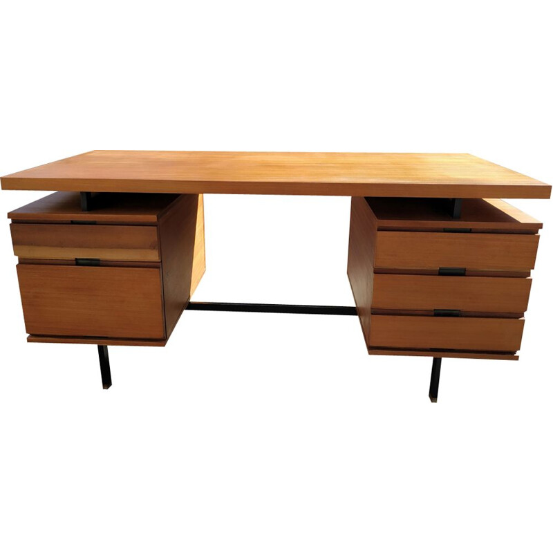 Vintage desk by Pierre Guariche Edition Minvielle 1950