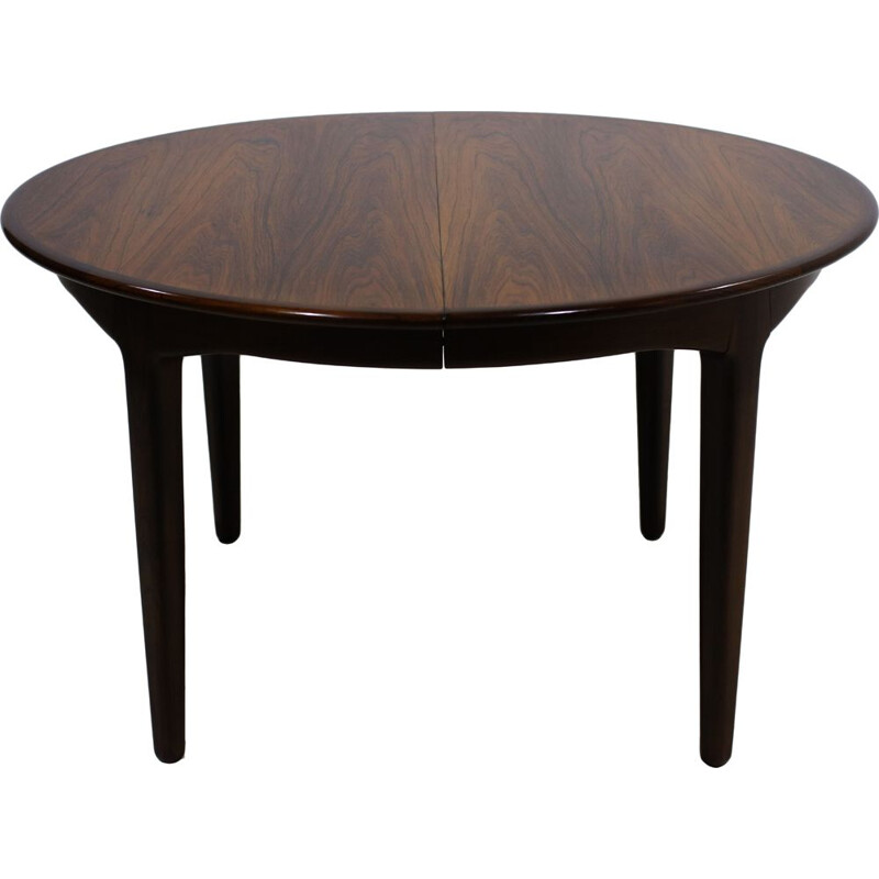 Vintage dining table in rosewood by Henning Kjaernulf for Soro Stolefabrik, 1960s