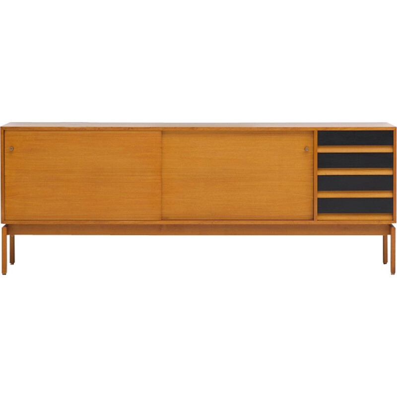 Vintage sideboard for Jos de Mey in wood 1960