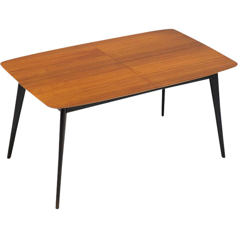 Vintage M2 table for Belform in wood 1950