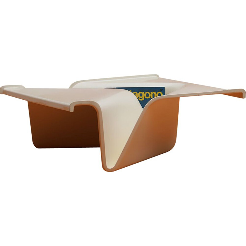 Vintage Kappa coffee table by Cesare Leonardi & Franca Stagi 1970