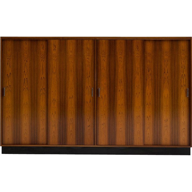 Vintage wardrobe in rosewood by Alfred Hendrickx for Belform 1970