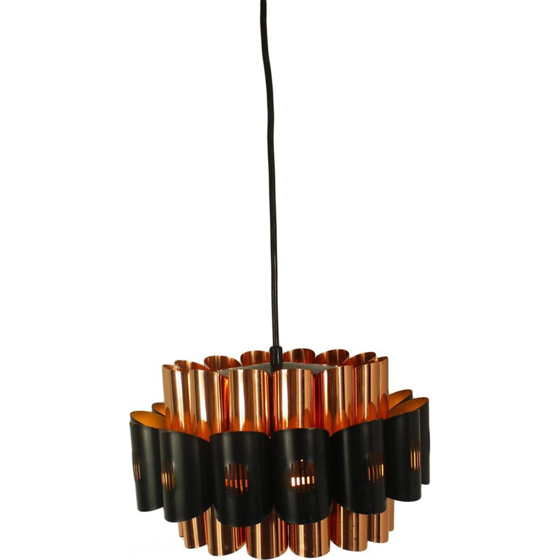 Vintage pendant lamp by Werner Schou for Cornell Electro 1970s