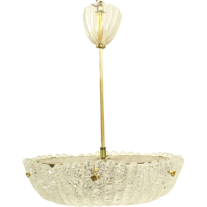 Vintage hanging lamp by Carl Fagerlund for Orrefors