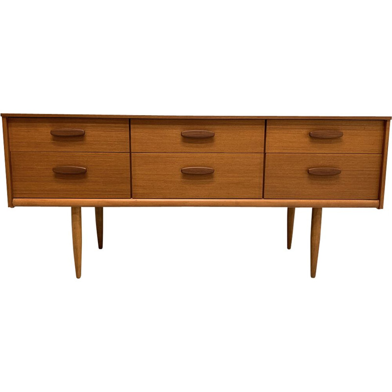Vintage sideboard for Austinsuite London in teakwood 1960