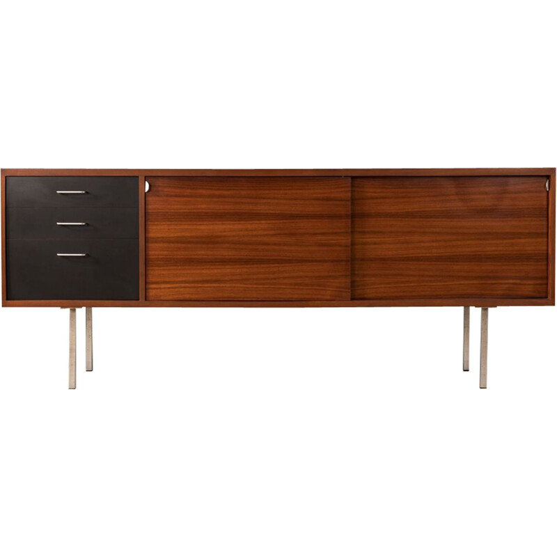 Vintage german sideboard in rosewood and formica 1960