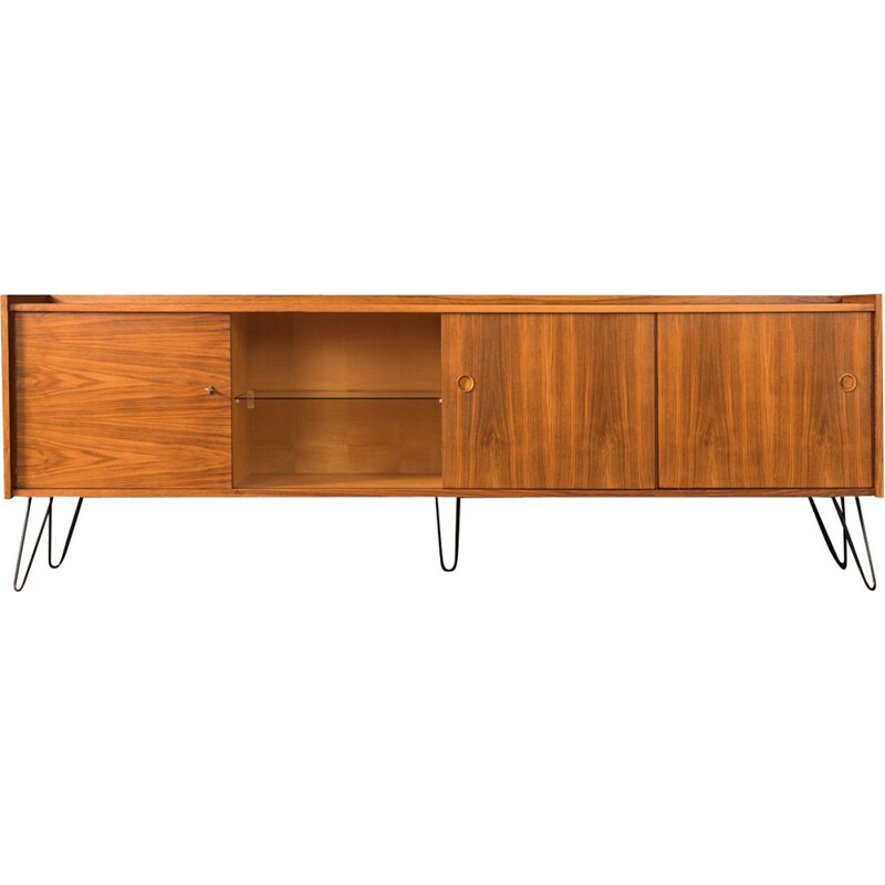 Vintage scandinavian sideboard in walnut 1960