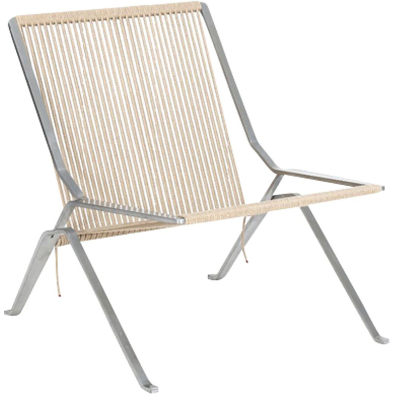 Vintage chair PK25 stainless steel by Fritz Hansen 2007